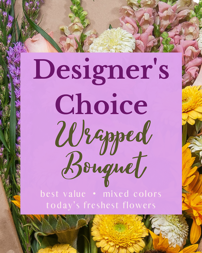 Designer\'s Choice - Wrapped Bouquet