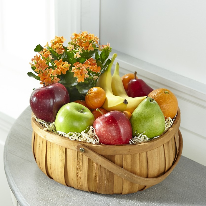 The FTD Plant and Fruit Basket